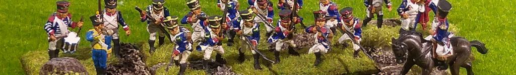 8e régiment de ligne – figurines Airfix 1/72