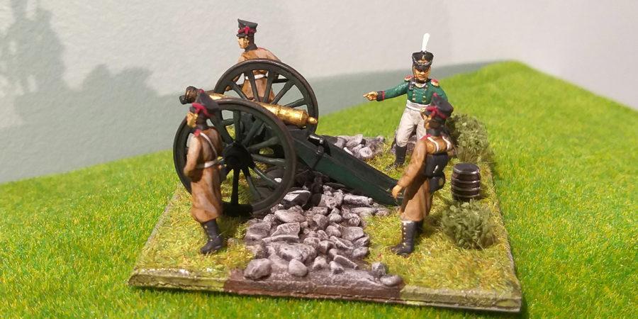Artillerie à pied de la Garde Impériale Russe 1812 - Le Voltigeur